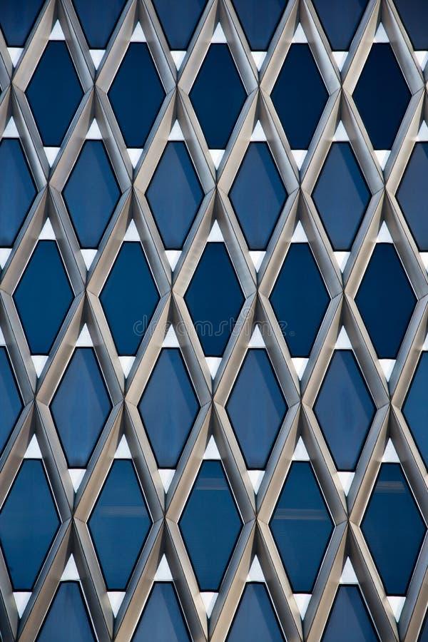 Estratto della costruzione di architettura fotografia stock