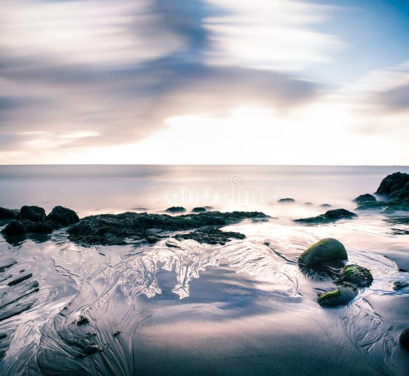 Estratto della spiaggia immagini stock libere da diritti