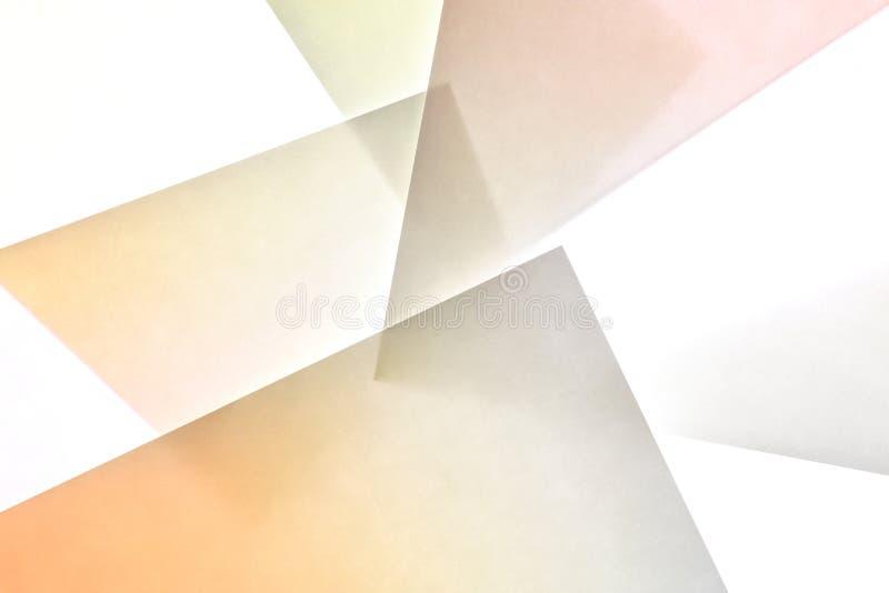Estratto di carta 2 di struttura di pendenza fotografia stock