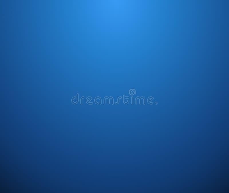 Estratto di chiaro fondo blu semplice di pendenza illustrazione vettoriale