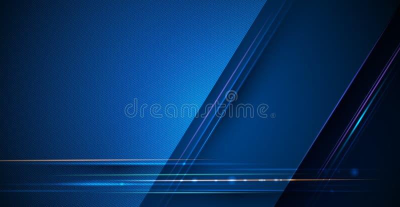 Estratto di progettazione di vettore, scienza, futuristica, energia, concetto moderno di tecnologia digitale per la carta da para illustrazione vettoriale