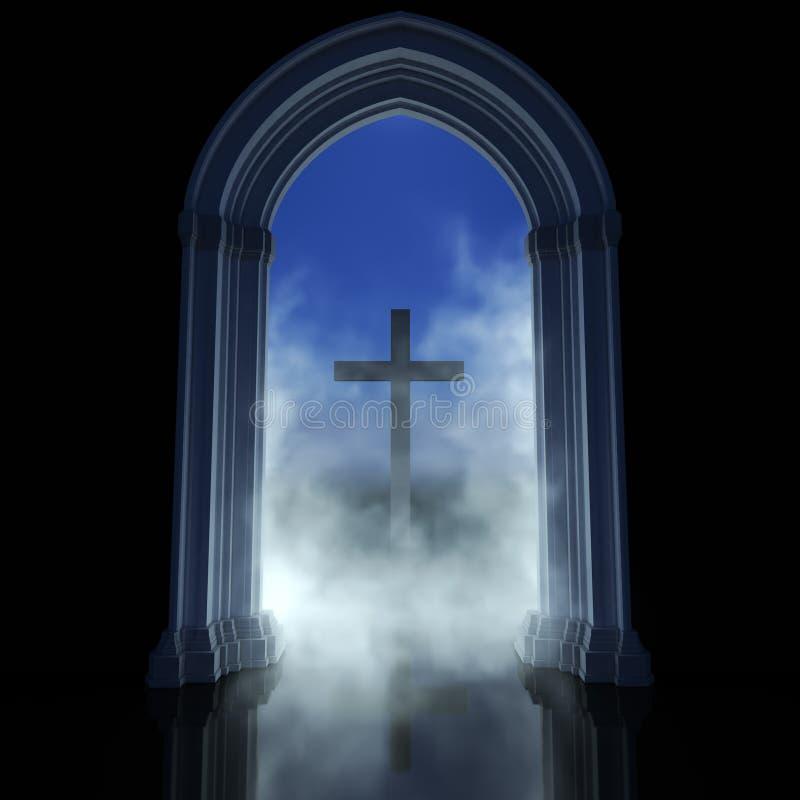 Estratto di religione immagine stock