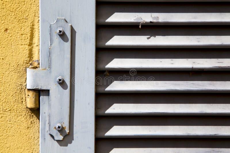 Estratto di Varese Italia della finestra di Besnate fotografia stock libera da diritti