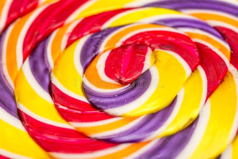 Estratto dolce della lecca-lecca fotografie stock libere da diritti