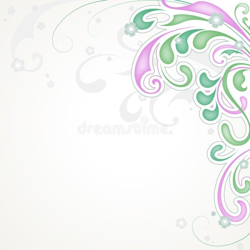 Estratto floreale illustrazione vettoriale