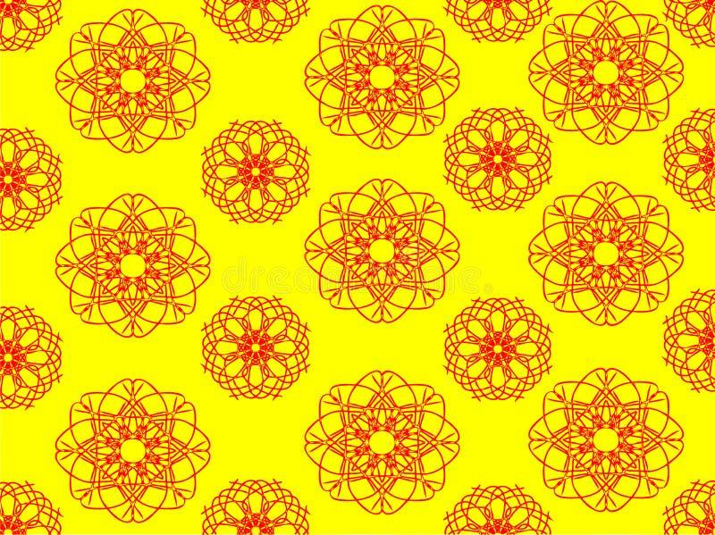 Estratto giallo del modello immagine stock libera da diritti