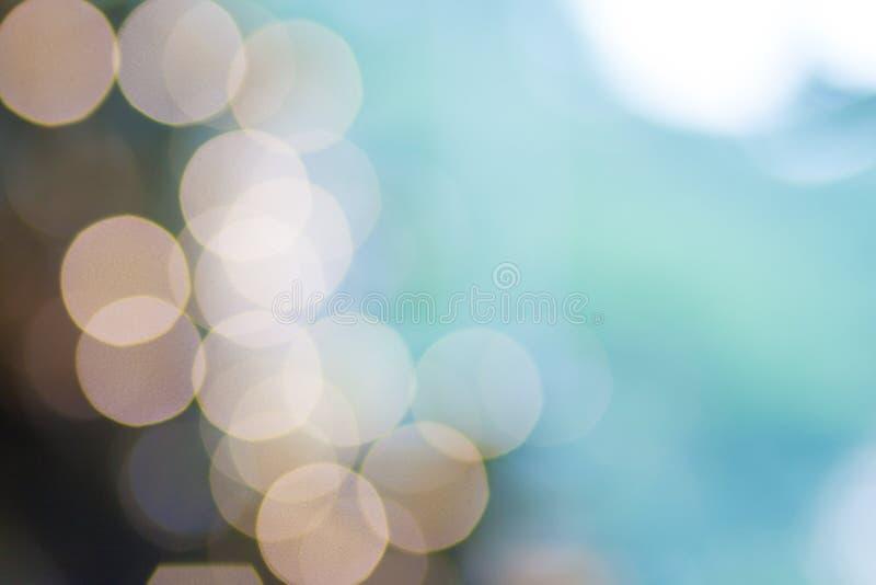 Estratto leggero del fondo del bokeh di scintillio fotografia stock libera da diritti