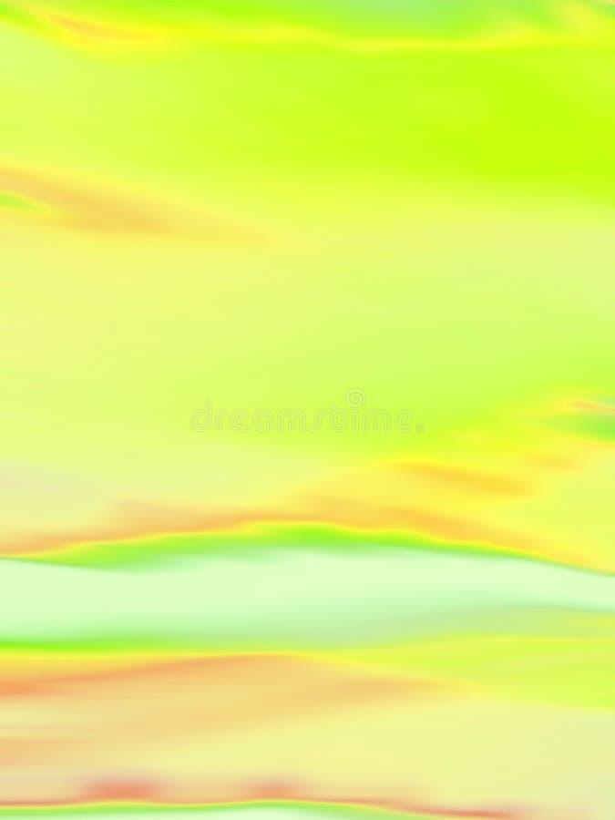 Estratto molle di colore illustrazione di stock