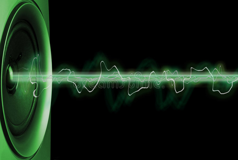 Estratto musicale immagini stock libere da diritti
