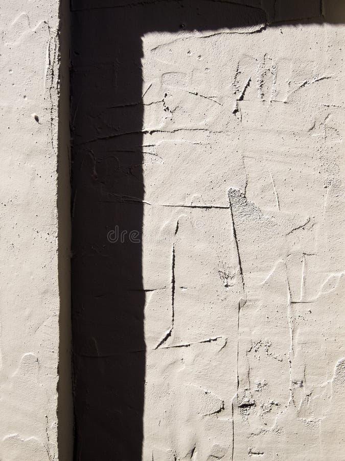 Estratto, parete dello stucco immagine stock