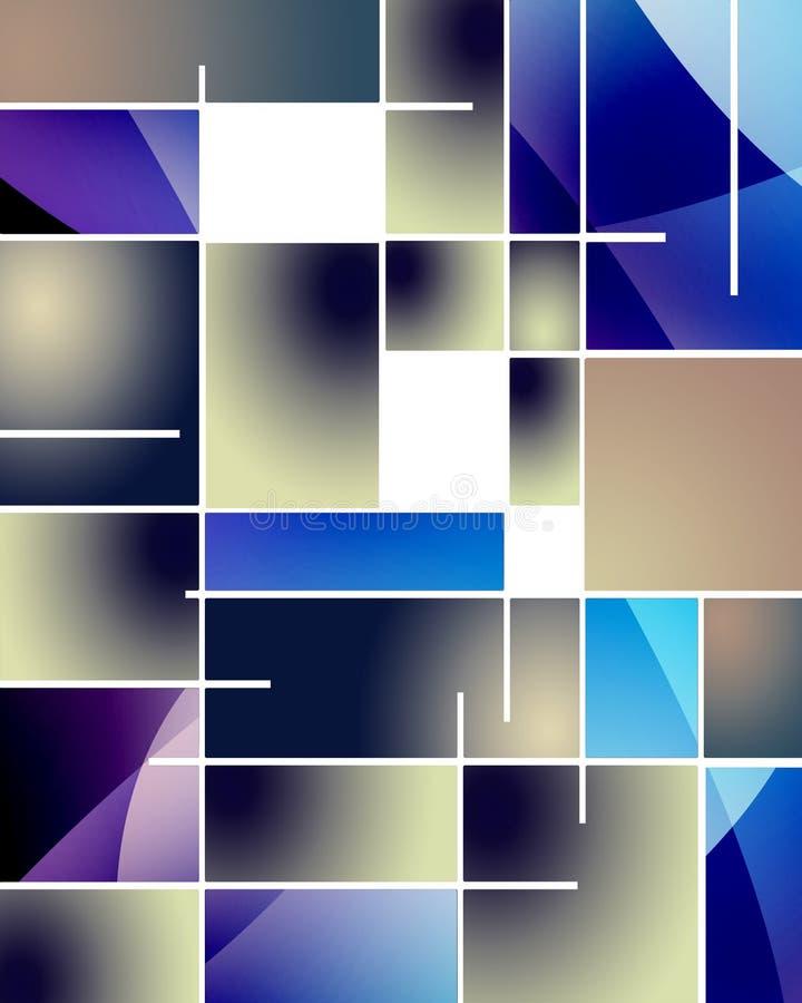 Estratto rettangolare illustrazione di stock