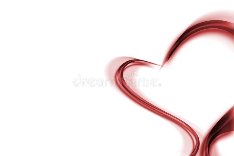 Estratto romanzesco di amore illustrazione vettoriale