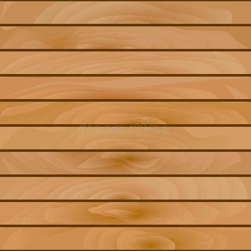 Estratto senza cuciture, modello di legno molto marrone chiaro illustrazione di stock
