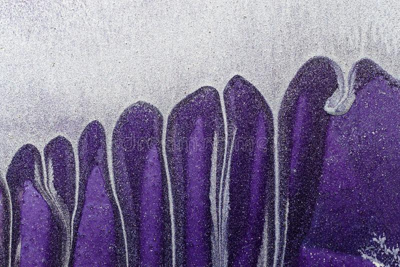 Estratto ultra Violet Background Superficie di metallo