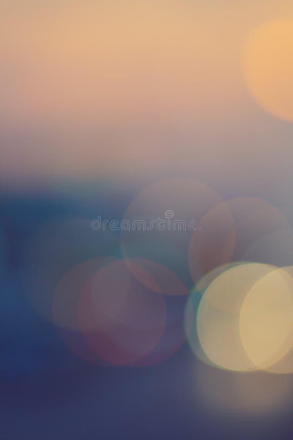 Estratto variopinto del fondo del bokeh immagini stock