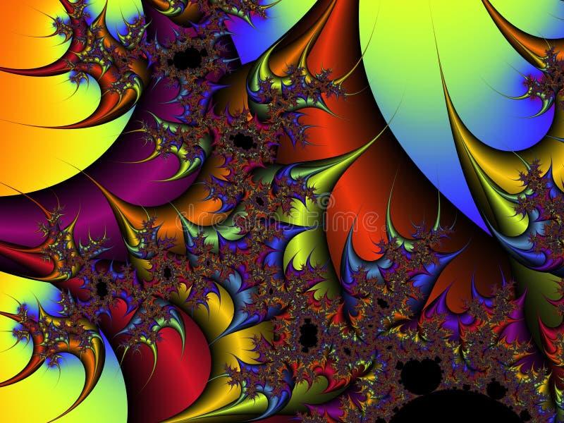 Estratto Variopinto Dell'arcobaleno Fotografie Stock Gratis