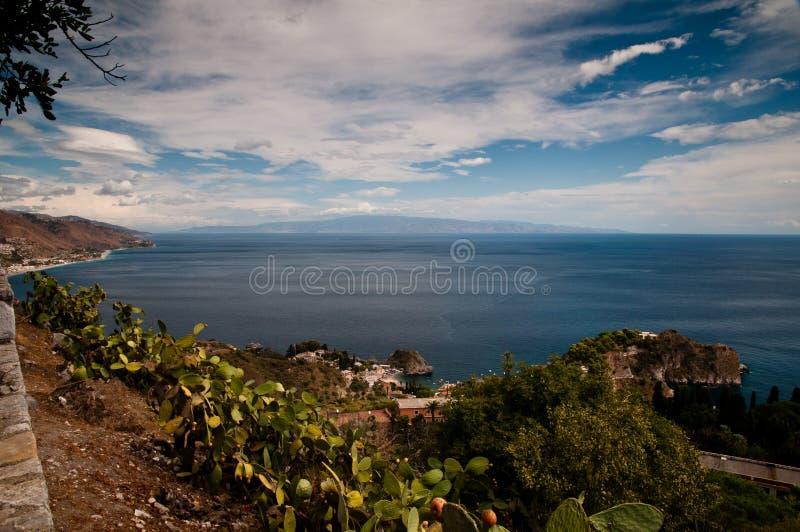 Estrecho de Messina imágenes de archivo libres de regalías