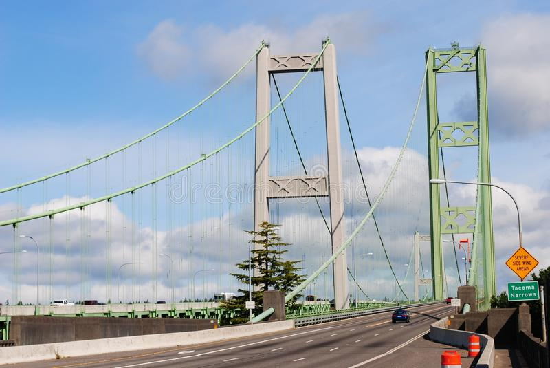 Estrechos de Tacoma foto de archivo libre de regalías