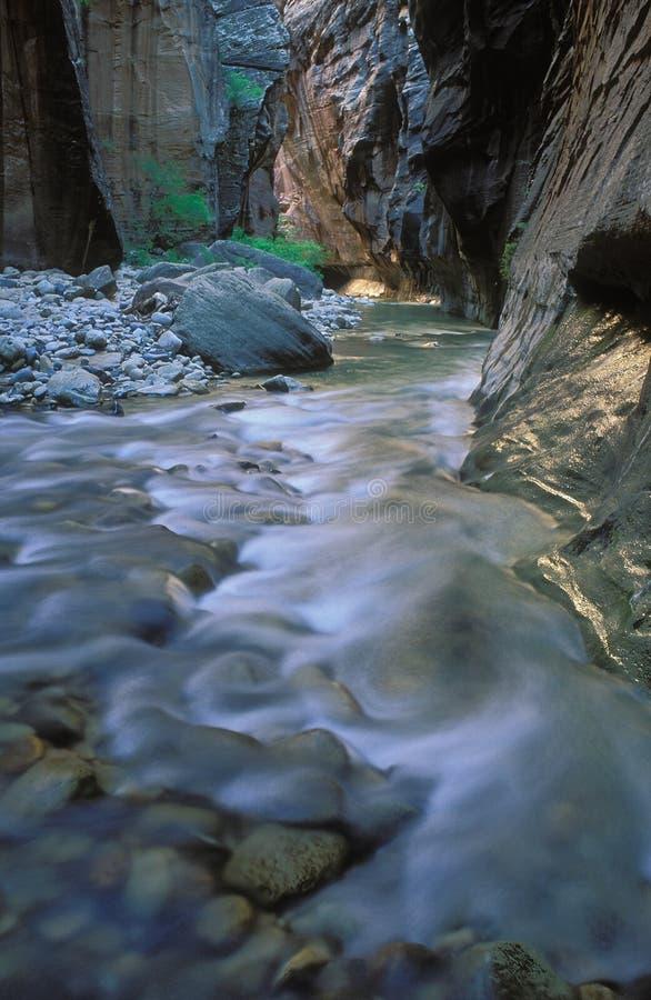 Estrechos del río de la Virgen fotos de archivo libres de regalías