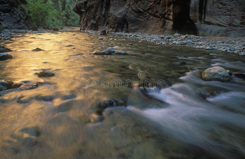 Estrechos del río de la Virgen imagenes de archivo
