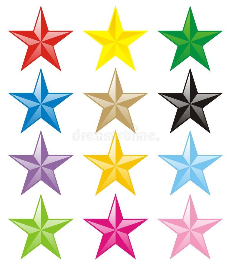 Estrela ilustração do vetor