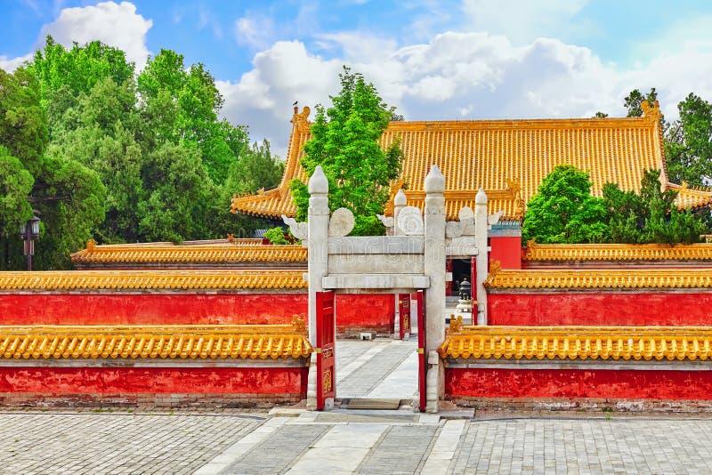 A estrela bloqueia o Pequim, China fotos de stock royalty free