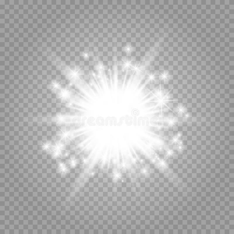 Estrela brilhante ilustração royalty free