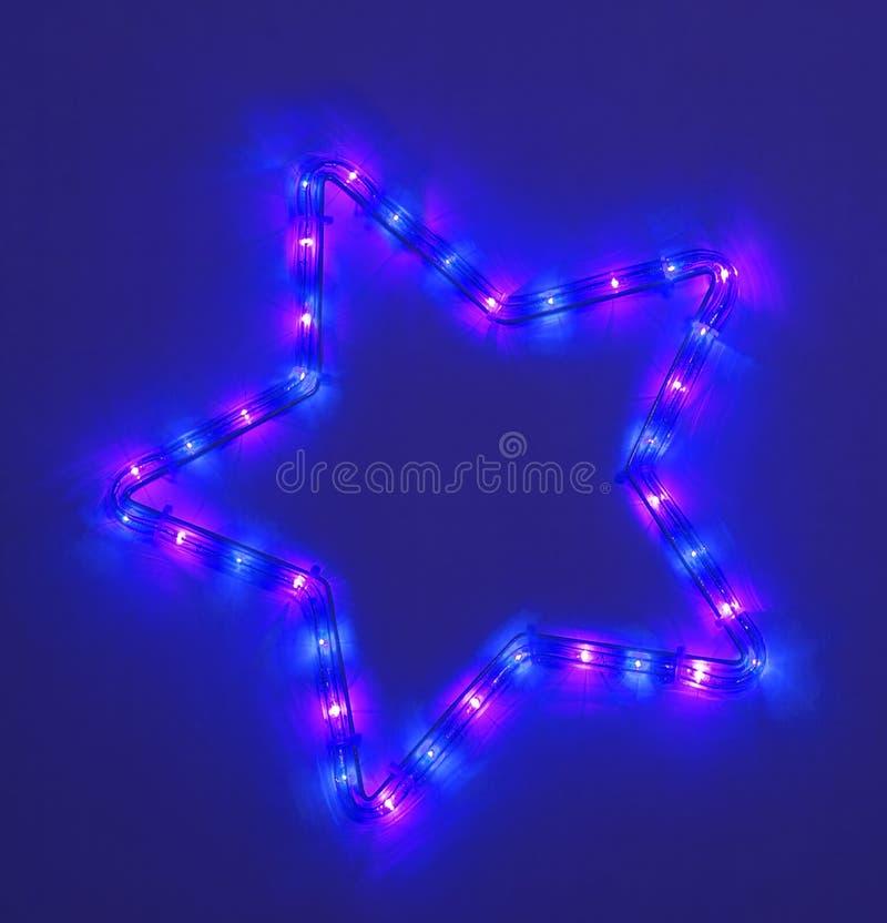 Estrela cinco-pointed colorida foto de stock