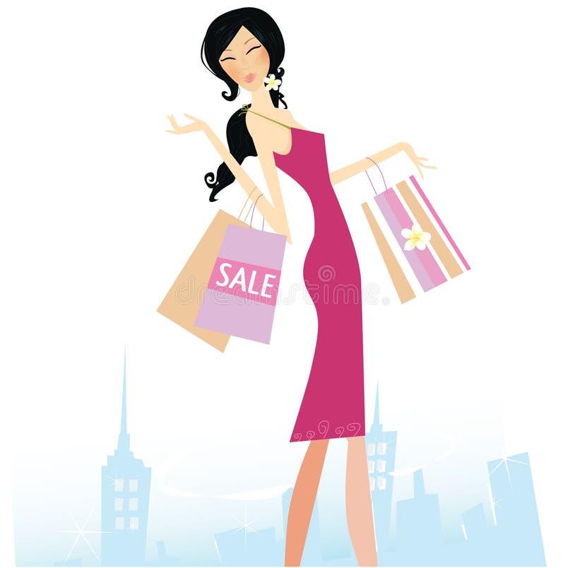 Estrela da compra ilustração royalty free