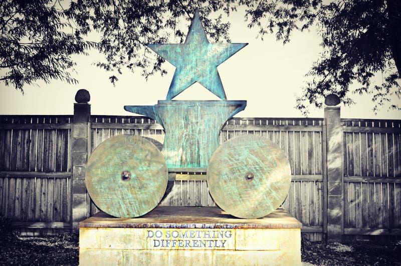 Estrela da estátua imagem de stock royalty free