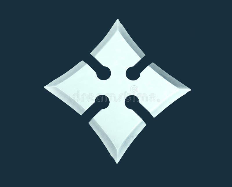 Estrela de aço de jogo foto de stock royalty free