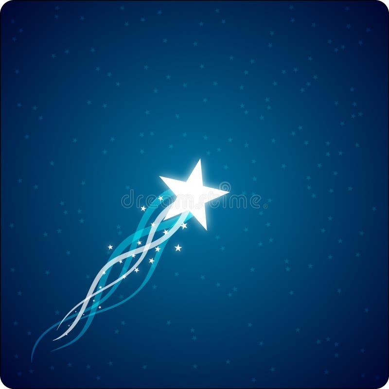 Estrela de aumentação ilustração royalty free