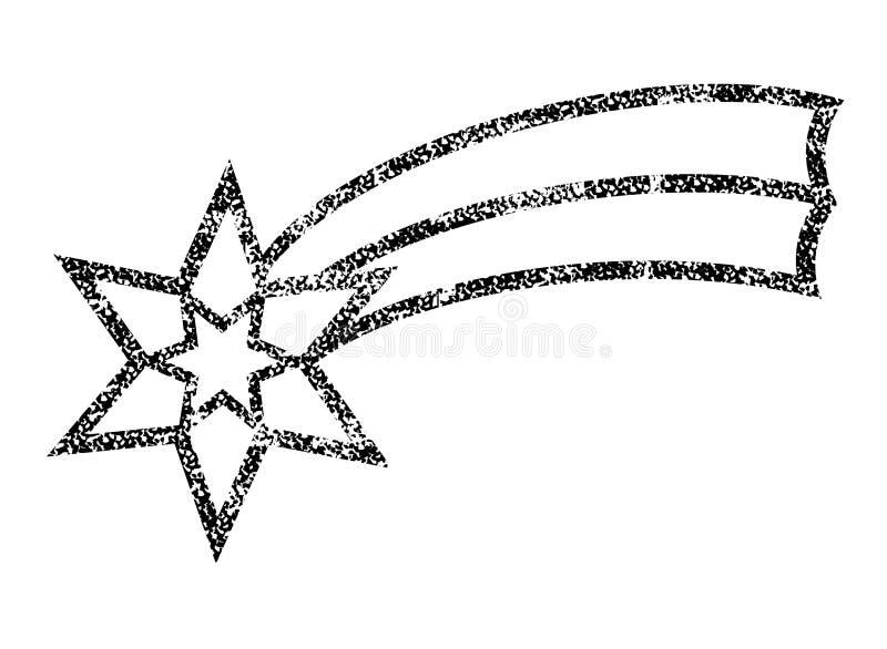 Estrela de Bethlehem ilustração royalty free