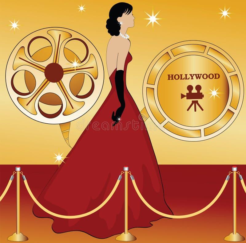 Estrela de Hollywood ilustração do vetor