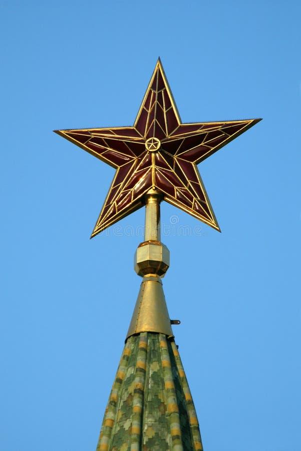 Estrela de Kremlin imagens de stock