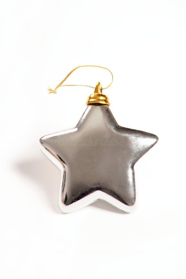 Estrela de prata fotos de stock royalty free