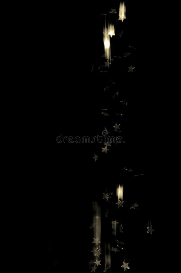 Estrela De Queda Escura Fotografia de Stock Royalty Free