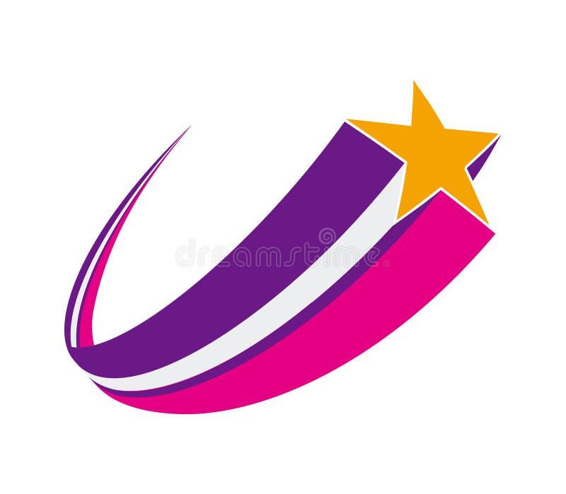 Estrela de tiro ilustração royalty free