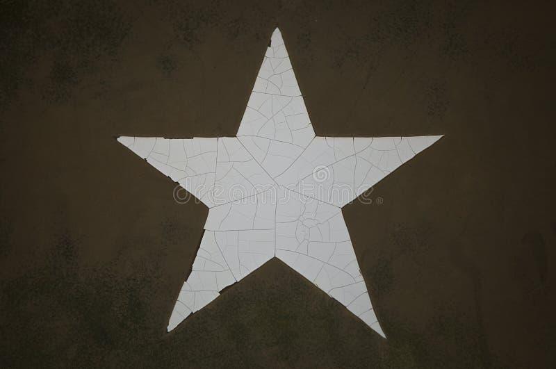 Estrela do exército de Grunge fotografia de stock