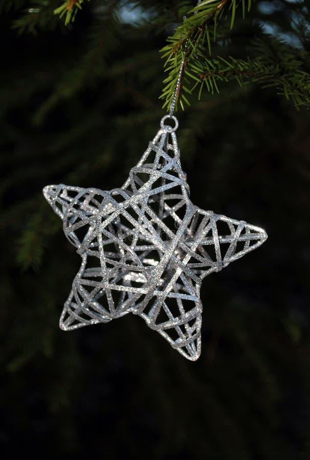 Estrela do Natal foto de stock royalty free