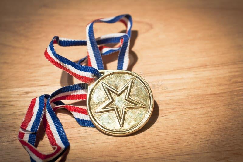 Estrela do ouro fotos de stock royalty free