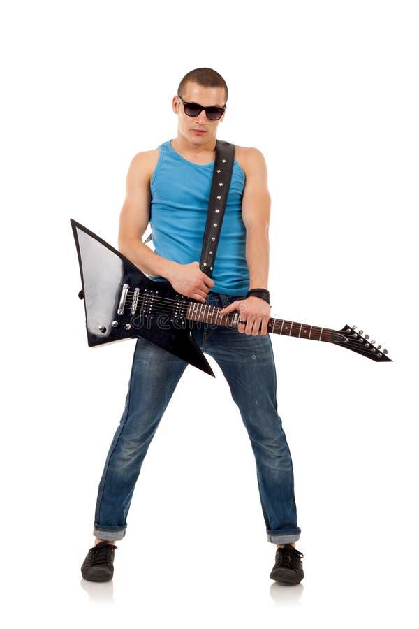 Download Estrela do rock imagem de stock. Imagem de corda, macho - 16865775