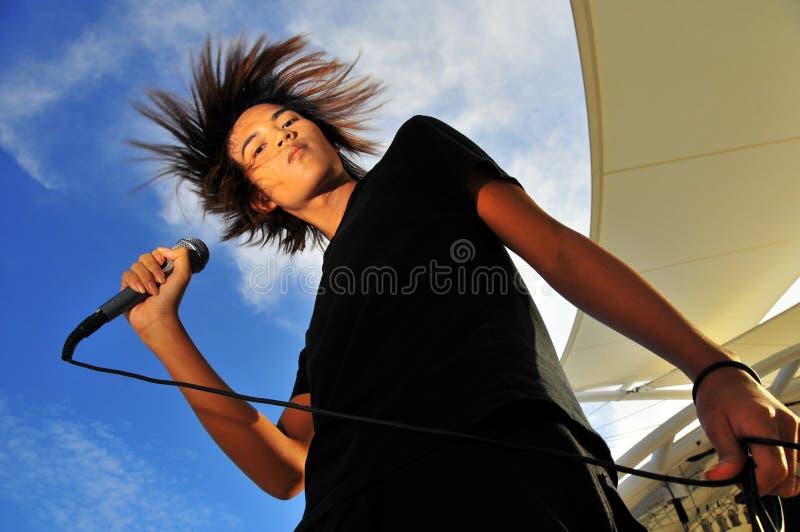 Estrela do rock 33 foto de stock royalty free