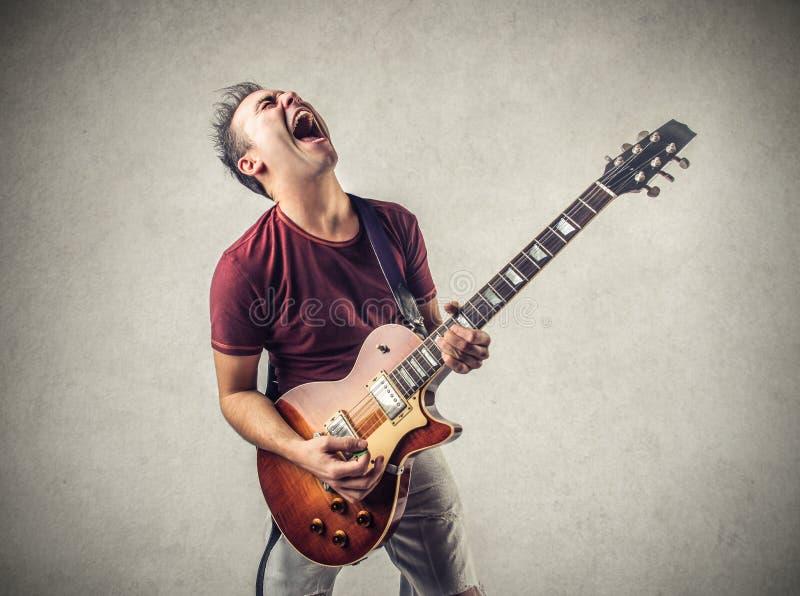 Estrela do rock fotografia de stock