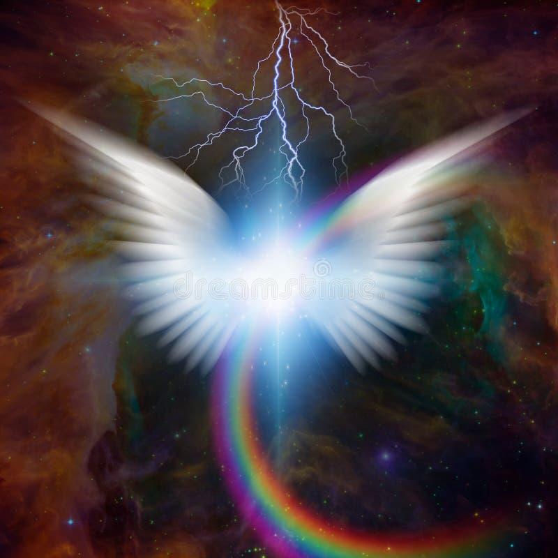 Estrela do ` s do anjo ilustração royalty free