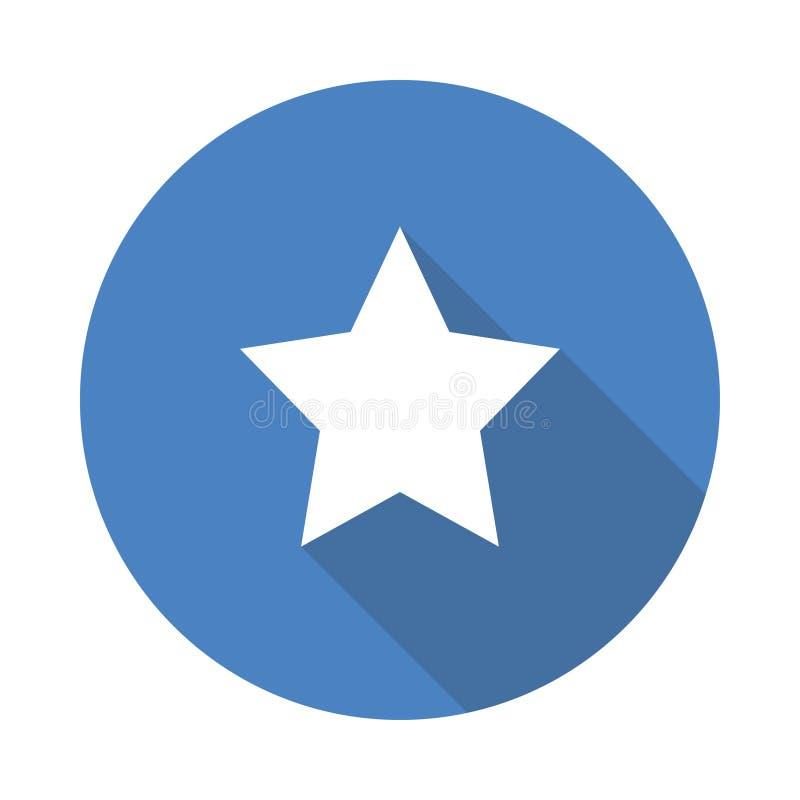 Estrela do vidro verde do vetor ilustração do vetor