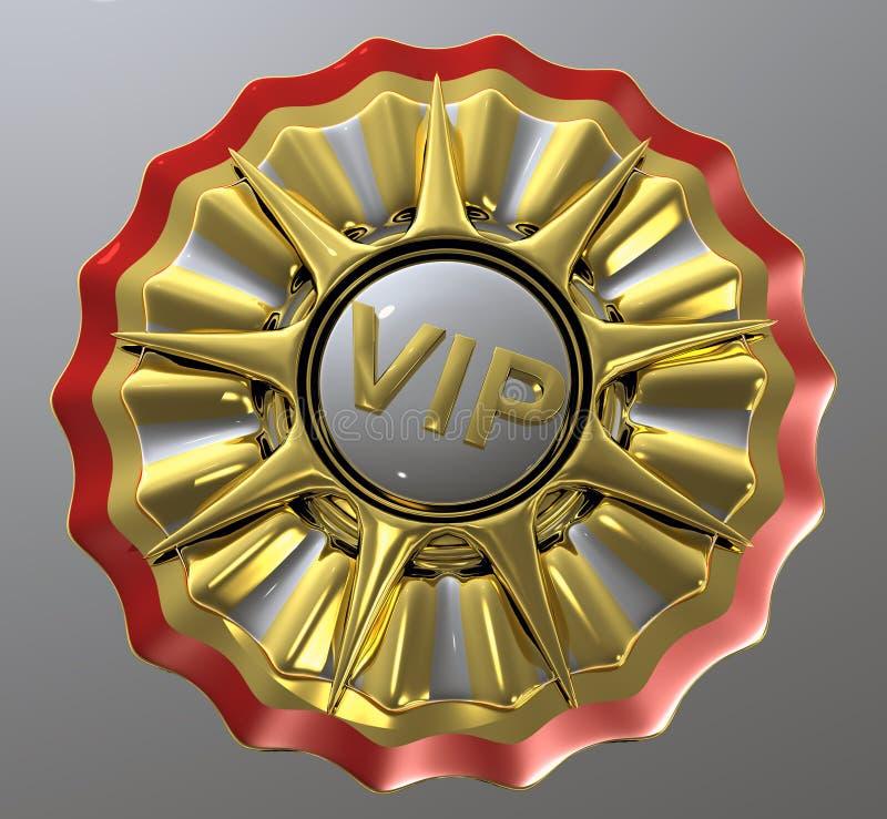 Estrela do VIP ilustração do vetor