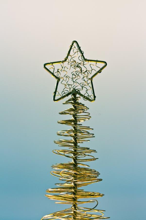 Estrela dourada imagens de stock