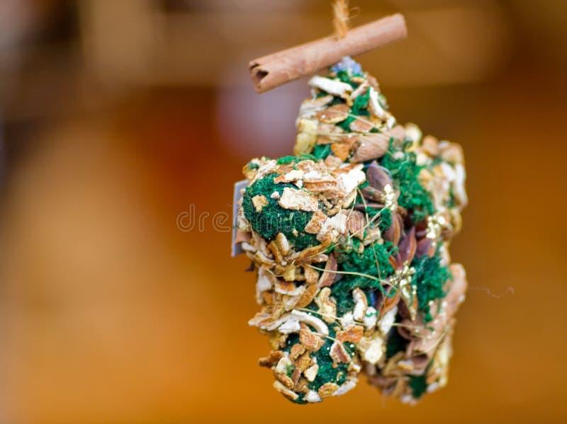 Estrela feericamente dos presentes em Christmas'eve em Áustria foto de stock
