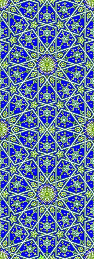 Estrela islâmica ilustração do vetor